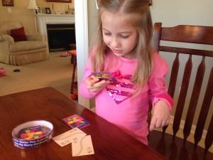 Letter Cluster Game